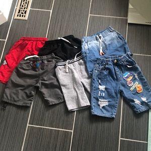 6 PC bundle Boys shorts sz5